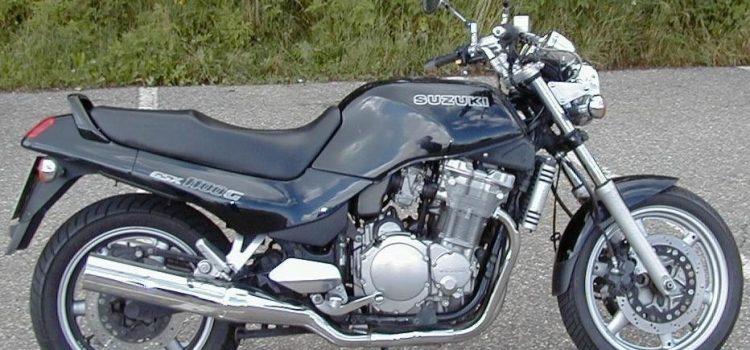 Suzuki GSX 1100G, verkauft, Kawasaki ZX6R gekauft