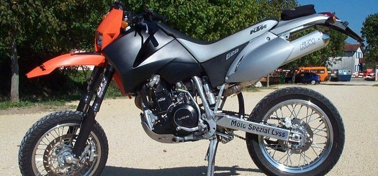 KTM SC620, wegen Untauglichkeit verkauft