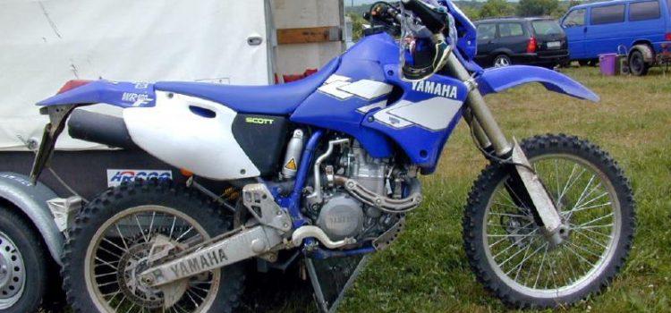 Yamaha WR400, gestohlen
