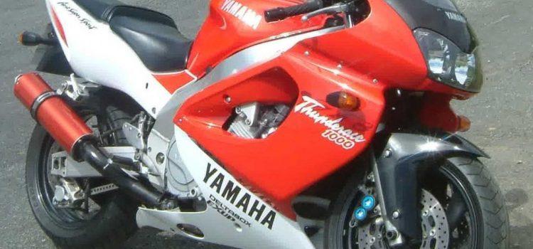 Yamaha YZF 1000 R ThunderAce, das gute Stück hat genug mitgemacht.