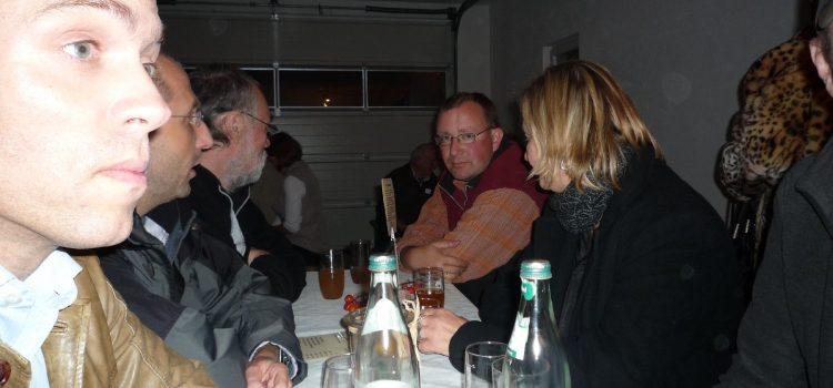 Tresterwurst-Essen 2009