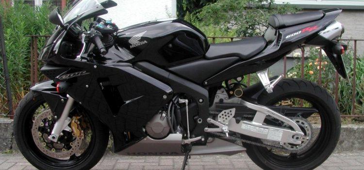 Honda CBR600RR, verkauft