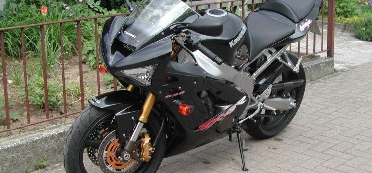 Kawasaki ZX6R Bj 2003, Totalschaden nach Unfall