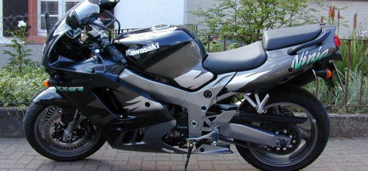 Kawasaki ZX9R, verkauft